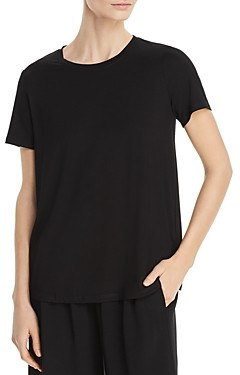 Eileen Fisher System Crewneck Tee, Regular & Petite