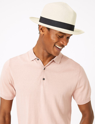 Marks and Spencer Christy's Foldable Straw Panama Hat