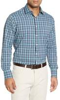 Peter Millar Sutter Athletic Fit Check Performance Sport Shirt