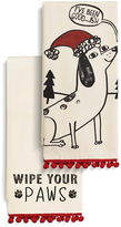 Dog Dish Towel - Set of Two