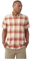 Royal Robbins Men's Go Everywhere Oxford Plaid Short Sleeve Shirt