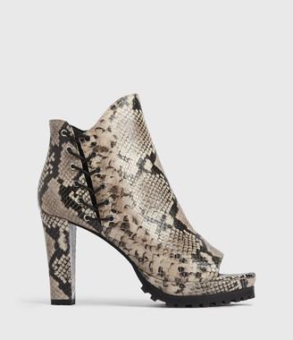 AllSaints Micaela Suede Boots