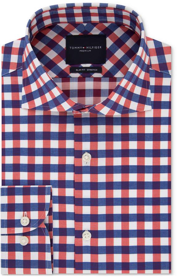 40ce104b5 Tommy Hilfiger Slim Dress Shirt - ShopStyle