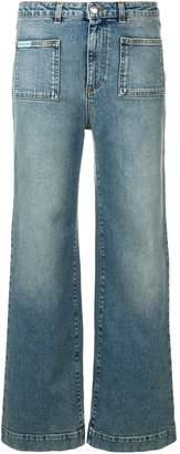 ALEXACHUNG Alexa Chung cropped straight jeans