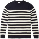 Saint Laurent - Slim-fit Striped Cashmere Sweater
