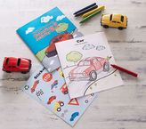 Pottery Barn Kids Green Toys - Vehicles Coloring & Activity Kit