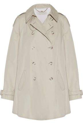 Stella McCartney Elsina Cotton-Blend Gabardine Trench Coat