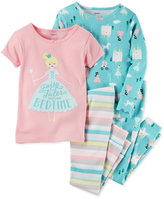 Carter's 4-Pc. Fairy Tales Cotton Pajama Set, Toddler Girls (2T-5T)