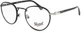 Persol Black Round Eyeglass Frames