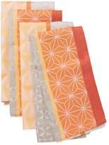 Garnier Thiebaut Garnier-Thiebaut Geometric Cotton Napkins (Set of 4)