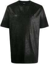 Diesel foil-covered short sleeve T-shirt