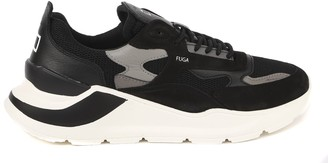 D.A.T.E Fuga Mesh Sneakers In Suede