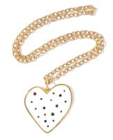 Edie Parker Large Heart Pendant