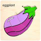Boddenly Kids Baby Toy ,Wooden Jigsaw Puzzle Educational Developmental Baby Kids Training Toy,Eggplant