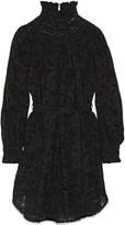 Zimmermann Master Chemisette broderie anglaise cotton mini dress