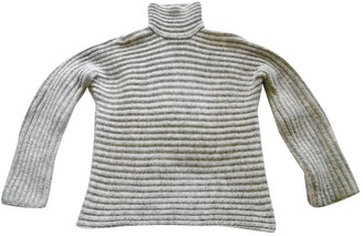Hermes White Cashmere Knitwear for Women Vintage