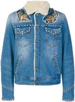 Just Cavalli embellished denim jacket