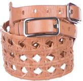 3.1 Phillip Lim Woven Leather Waist Belt