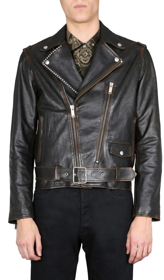 Golden Goose Leather Jacket - ShopStyle
