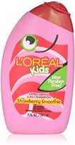L'Oreal Kids Strawberry Smoothie 2-in-1 Shampoo for Extra Softness, 9 fl. Oz.