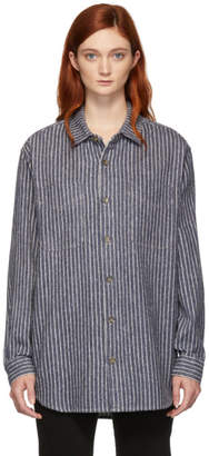 Etoile Isabel Marant Blue Paulie Japanese Workwear Shirt