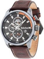 Timberland Men's Bartlett Brown Leather Strap Watch 44x49mm TBL14816JLU02A