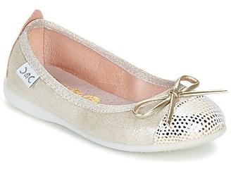 Citrouille et Compagnie GRAGON girls's Shoes (Pumps / Ballerinas) in Beige