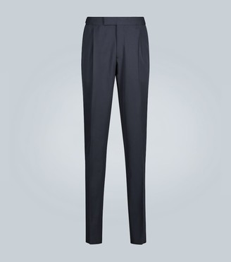 Ermenegildo Zegna Wool-blend formal pants