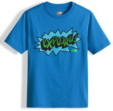 The North Face Explore Graphic Jersey Tee, Blue, Size XXS-L
