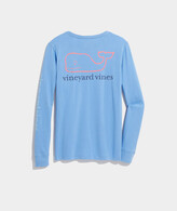 Thumbnail for your product : Vineyard Vines Tri-Color Vintage Whale Long-Sleeve Pocket Tee