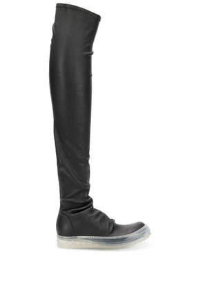 Rick Owens Over The Knee Stocking Sneaker Boots