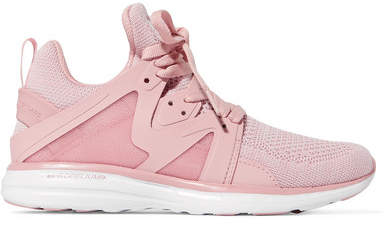 APL Athletic Propulsion Labs Ascend Techloom Mesh Sneakers - Blush