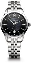 Victorinox Alliance Small 241751 Black / Silver Stainless Steel Analog Quartz Women's Watch
