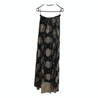 Issa Navy Silk Skirt for Women