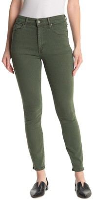 Mother High Waisted Looker Ankle Skinny Jeans