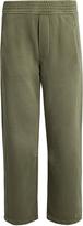 Current/Elliott The Barrel wide-leg cropped cotton track pants