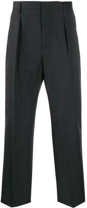 Valentino straight leg tailored trousers