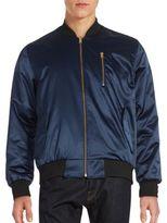 Karl Lagerfeld Reversible Zip-Up Jacket