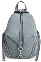 Rebecca Minkoff Medium Julian Nubuck Backpack - Blue