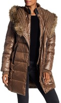 Rudsak Leather Faux Fur Trim Annye Coat