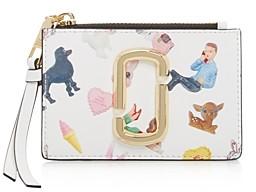 Marc Jacobs Snapshot Sugar Mini Top Zip Wallet