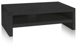 Way Basics Eco Friendly 2-Shelf Monitor Stand