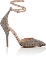 "Valentino Women's ""Love Latch"" Ankle-Strap Pumps-PINK"