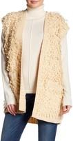 Tularosa Agnes Fluffy Knit Coat