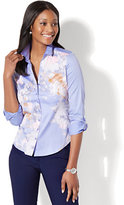 New York & Co. 7th Avenue - Madison Stretch Shirt - Poplin