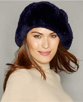 The Fur Vault Knitted Beaver Fur Beret
