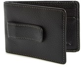 Boconi Men's 'Tyler' Money Clip Wallet - Black