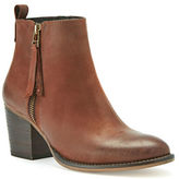 Blondo Vegas Leather Almond Toe Ankle-Boots