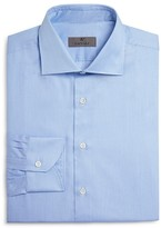 Canali Fine Stripe Regular Fit Dress Shirt
