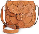 Patricia Nash Golden Patchwork Arco Flap Bag